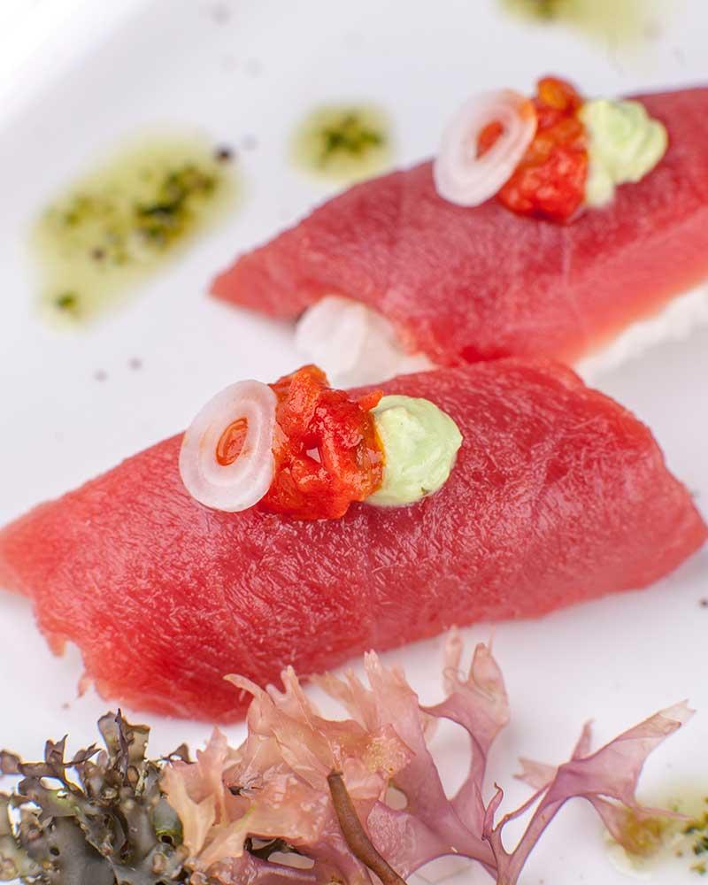 atun-kizami-wasabi-confitura-tomate